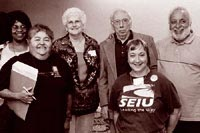 Photograph of Senior Organizers and Caucus members